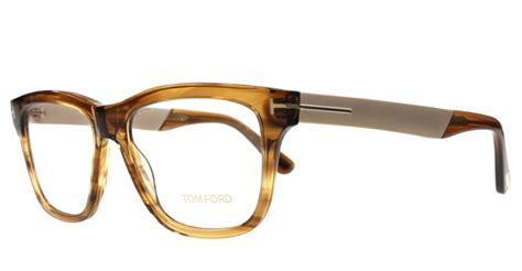 new tom ford eyeglasses tf 5372 brown 048 tf5372 54mm