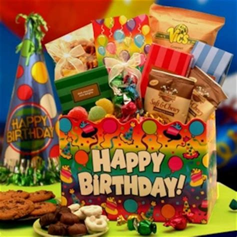 Happy Nuts Barware A Birthday Celebration Gift Box Aagiftsandbaskets