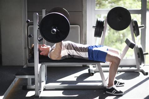 bench press exercise images health and fitness benefits of weight training