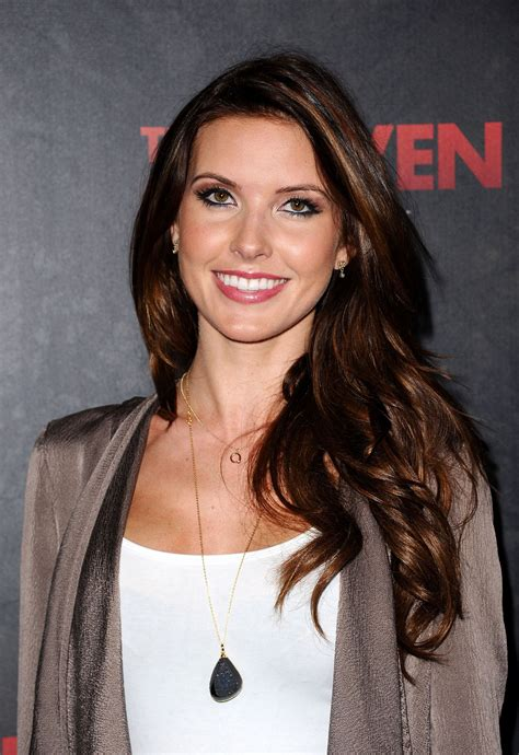 Audrina Patridges New Is by Audrina Patridge At The Premiere In Los Angeles