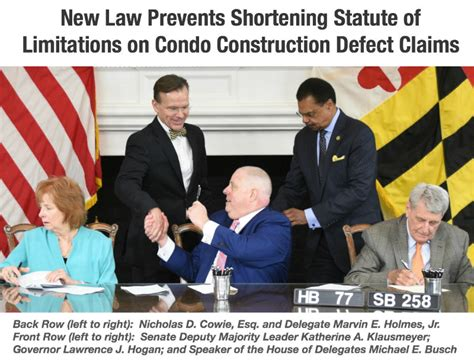 Statute Of Limitations On Mesothelioma Claims 2 by Cowie Mott Maryland Condominium Construction Defect