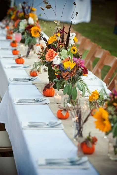 farm wedding table decor weddings country farm theme
