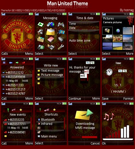 manchester united themes for whatsapp man united themes