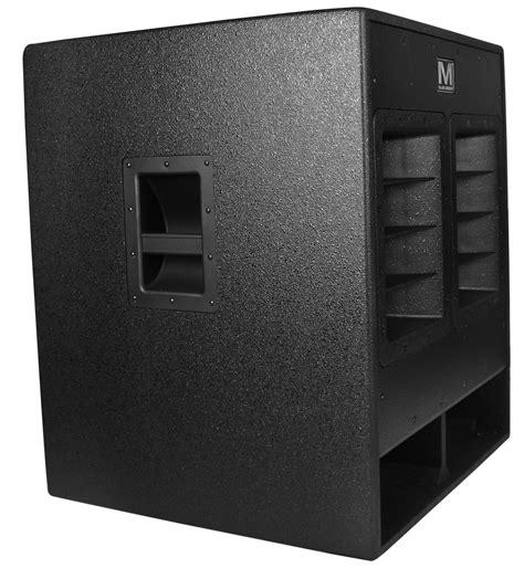 Speaker Cabinet Texture Paint by Marathon Sr 518sw High Power Active 18 Quot Subwoofer System