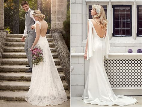 Wedding Hairstyles For Backless Dress by How To Wear A Backless Wedding Dress Hitched Co Uk