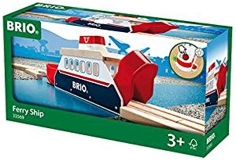 brio ferry brio world harbour ferry ship amazon co uk toys games