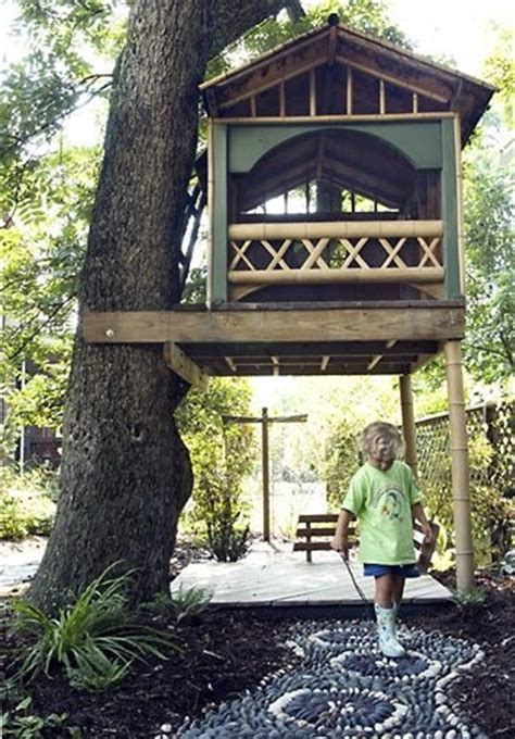backyard treehouse designs 33 simple and modern kids tree house designs freshnist