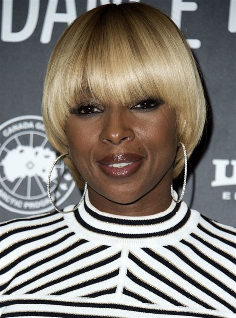 mary j blige hair stylebistro mary j blige bowl cut short hairstyles lookbook