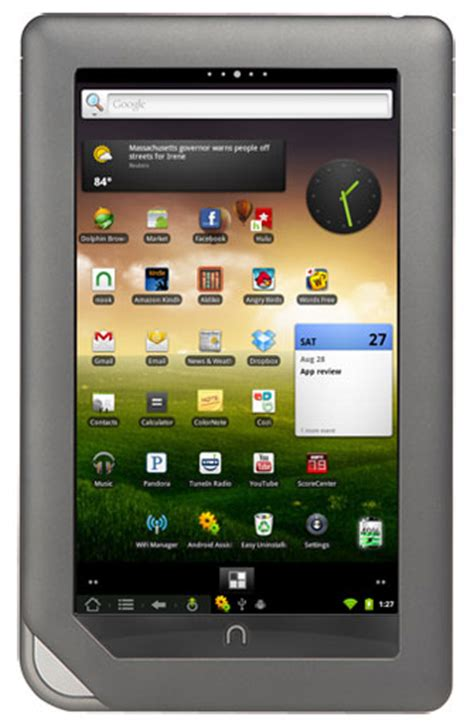 android for nook nook color n2a review turning the nook into an android tablet the easy way the ebook reader