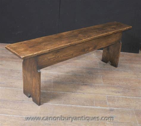 rustic bench seat english oak farmhouse bench seat storage box refectory rustic