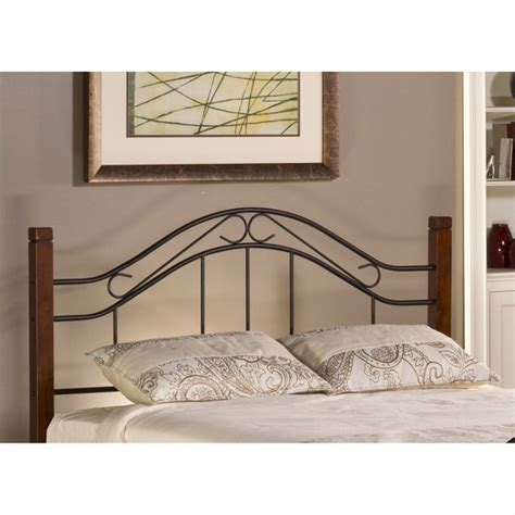 Spindle Headboards by Hillsdale Matson Spindle Headboard In Cherry And Black