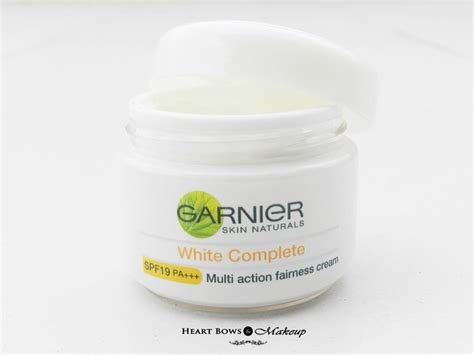 Garnier White garnier white complete fairness wash review price buy india bows makeup