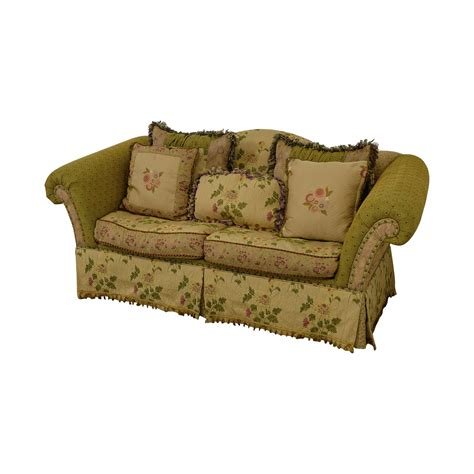 Domain Sofa by 90 Domain Domain Filled Floral Green Two