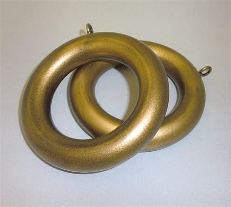 2 inch antique gold smooth wood ring interiordecorating
