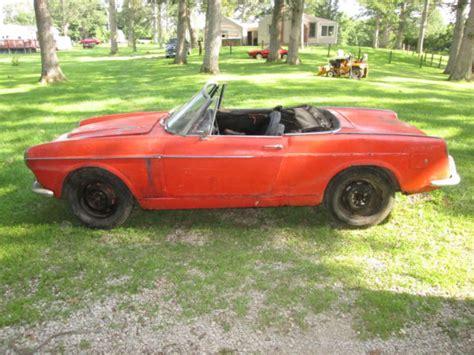 1961 fiat spider 1961 fiat 1200 spyder roadster for sale in