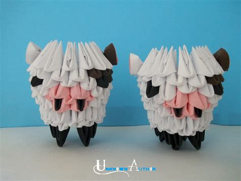 3d Origami Cow - 3d origami cow by jobe3do on deviantart