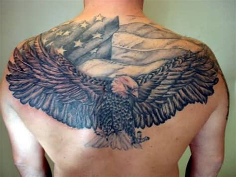eagle back tattoo eagle back www pixshark images
