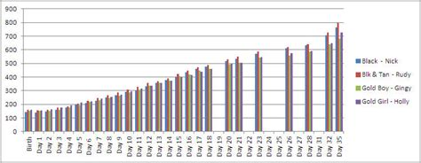 havanese weight chart
