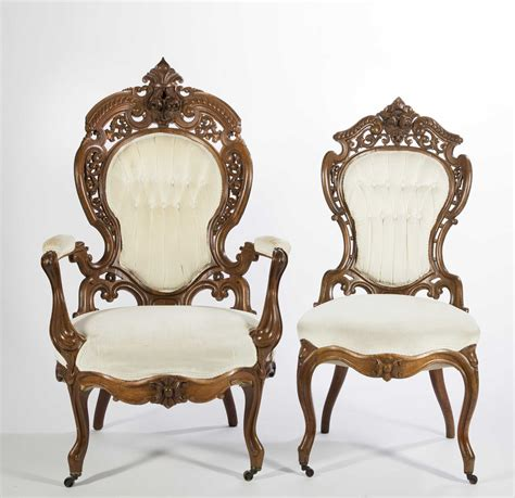 victorian armchair john henry belter victorian chairs