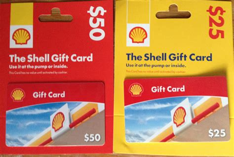 Shell Gas Cards Gift - save 20 on gas via home depot miles quest