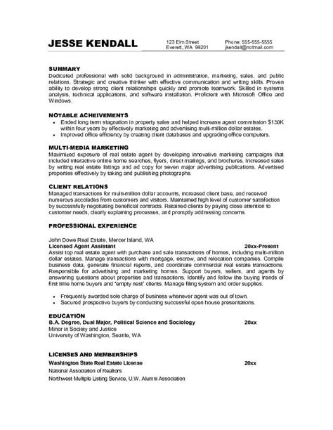 business resume objectives objective for resume exles resume ideas