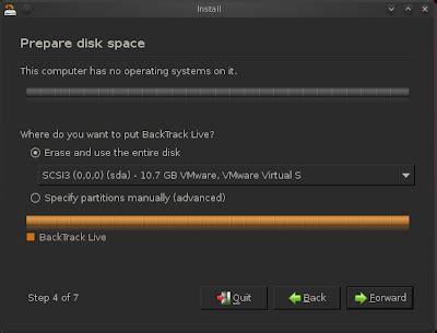 tutorial carding dengan backtrack tutorial instal backtrack dengan usb flash disk cyber