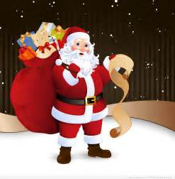 Free vectors with santa claus by garcya on deviantart