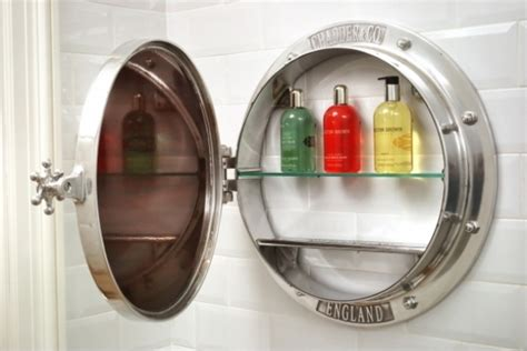 porthole bathroom cabinet porthole surface mounted cabinet chadder co
