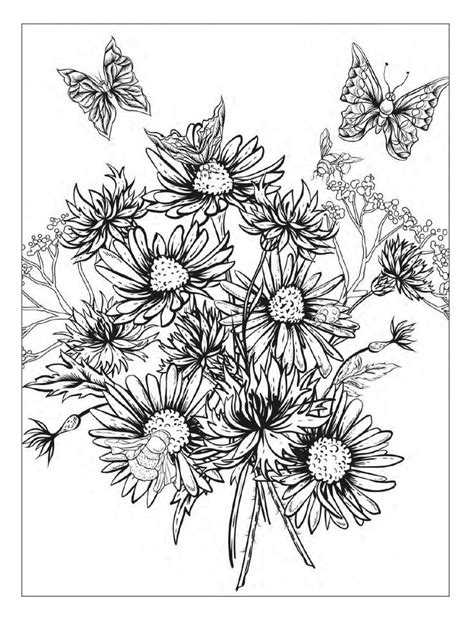 colouring pages detailed flower colouring pages detailed flower coloring pages www imgkid com the
