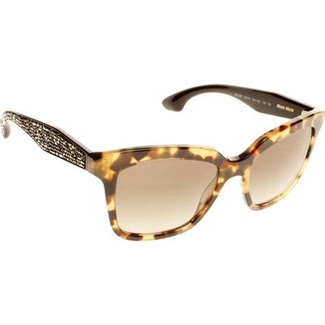 miu miu mu 09ps 7s04m1 54 sunglasses shade station