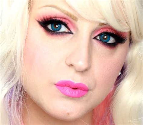 tutorial make up barbie sederhana trucco halloween barbie killer beautydea