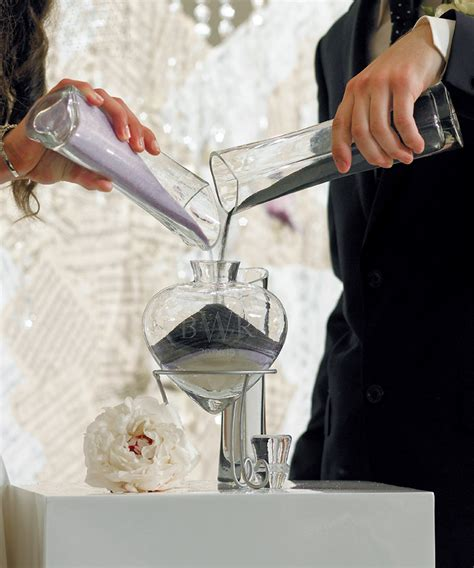wedding traditions sand pouring ceremony wedding ceremonies unity sand unity candle weddings