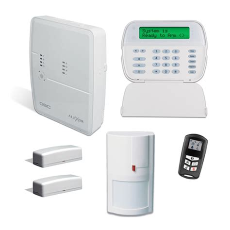 kit4952 dsc alexor pc9155 distributed wireless alarm