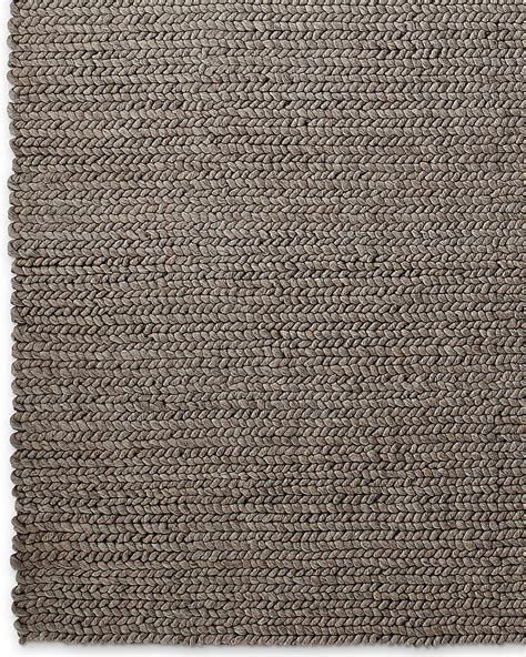 gray braided rug chunky braided wool rug grey