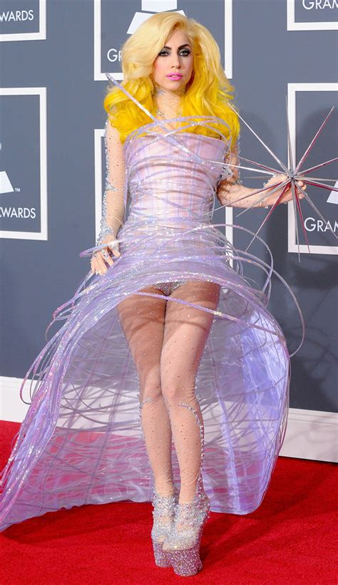 Dress Gaga gaga grammy dress