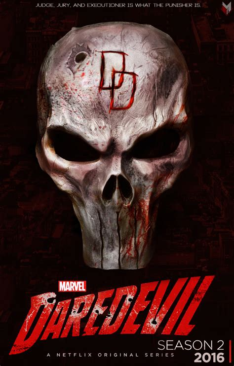 daredevil season 2 poster by spidermonkey23 on deviantart