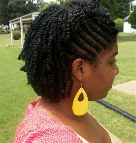 flat twist hairstyles for women over 40 m 225 s de 25 ideas incre 237 bles sobre afro twist en pinterest