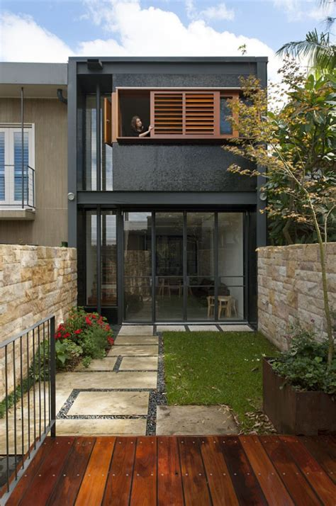 Small House Designs Sydney Turn A 1900 S Terrace House Into A Contemporary Oasis In