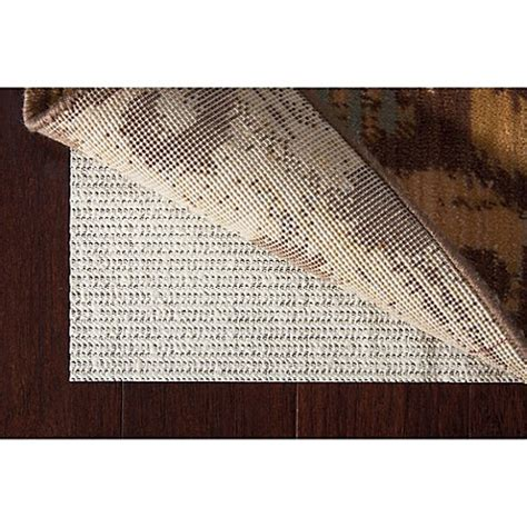 rug pad 5 x 7 buy nourison shiftloc pad 5 5 quot x 7 11 quot rug pad area rug in ivory from bed bath beyond