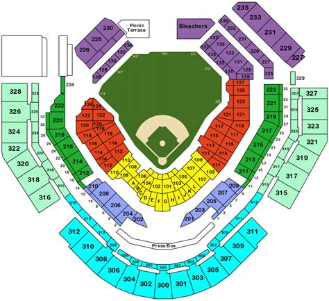 petco park 3d seat viewer petco park tickets petco park san diego tickets petco