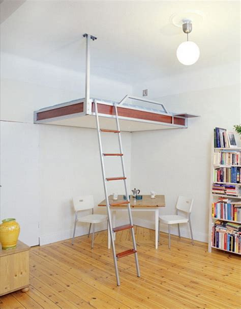 beds that hang from the ceiling loft bed ideas