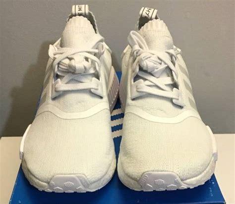adidas nmd pk r1 monochrome pack white kixify marketplace