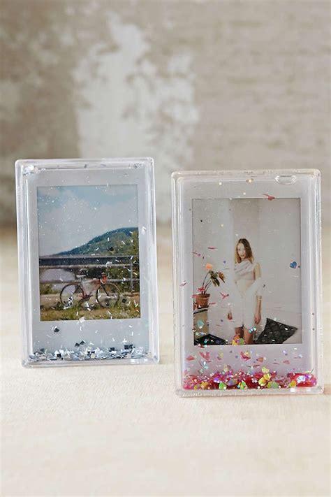 Fujifilm Instax Mini Photo Frame mini instax glitter picture frame glitter pictures