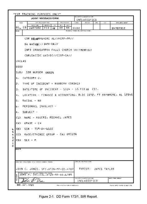 Serious Incident Report Template mp1006 lesson 2