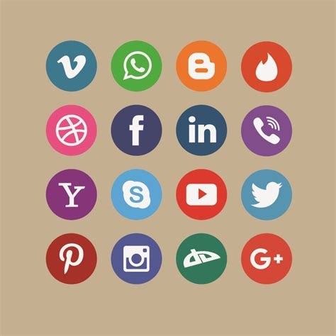 free vector graphic design vector icons pack download social media icon pack design free vector file download