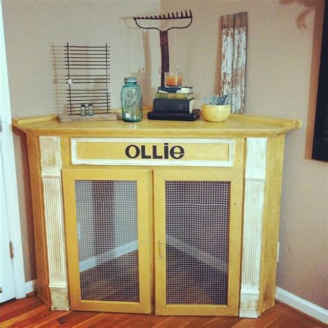 Idea For Kitchen Island 21 stylish dog crates home stories a to z