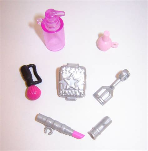 barbie doll house accessories new mattel dollhouse makeup polish soap accessories for barbie size dolls ebay