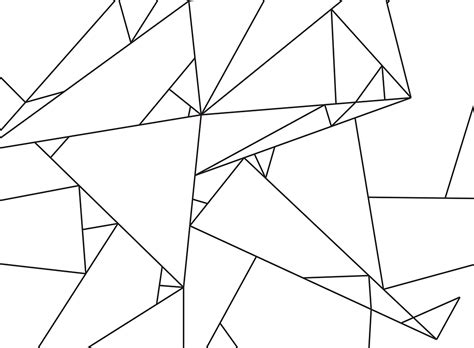 origami line free printable gold pixel