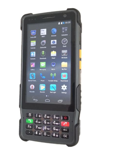 telecom test telecom test pda senter st327 android pda vdsl2 tester
