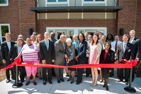 housing authority athens ga athens housing authority and columbia residential hold ribbon cutting ceremony